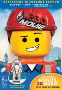 Lego movie blu ray 3d cover