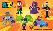 Teen titans go toy mcdonalds