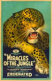 Miracles of the Jungle theatrical poster 1921