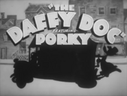 The Daffy Doc Title Card