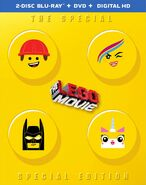 Lego movie blu ray 2015 cover