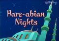 Hare-abian Nights title card