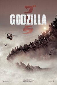 GODZILLA 2014 New Official Poster