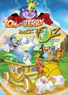 Tom and jerry back to oz box