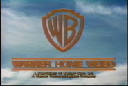 Warner home video 1980s prototype logo