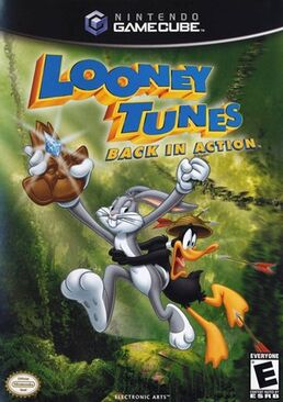 Looney Tunes Back in Action game coverart