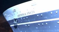 Antonia Graza name plate