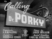 Calling Dr Porky