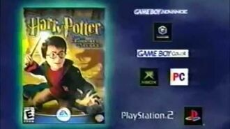 Harry Potter and the Chamber of Secrets Game Ad (2002)