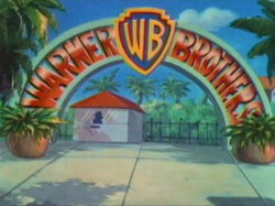 Warner Bros. Studios on Tiny Toons