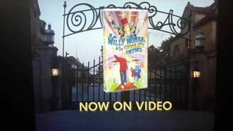 Willy Wonka and the Chocolate Factory VHS and DVD Release Ad (1999)