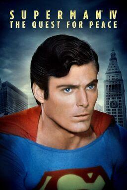 Superman IV poster
