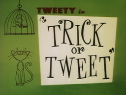 Trick or Tweet Title Card