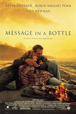 Message in a bottle film poster