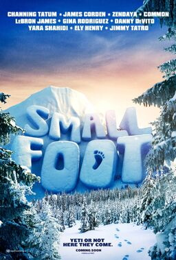 Smallfoot tease poster