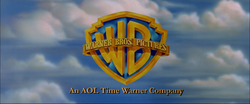 Warner Bros. logo 2002-2003 variant