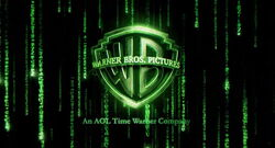 Warner bros logo The Matrix Reloaded trailer 2003