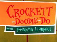 Crockett-Doodle-Do Title Card