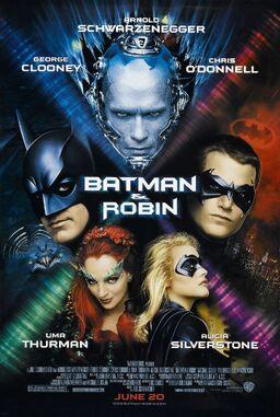 Batman & robin poster
