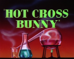 Hot Cross Bunny Title Card