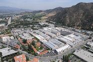 Warner Bros. Studios Burbank Aerial View -2