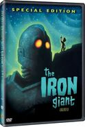 The Iron Giant DVD 2004