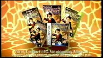 Toys R Us Harry Potter and the Chamber of Secrets commercial, November 2002