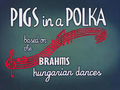 Pigs in a Polka Title Card