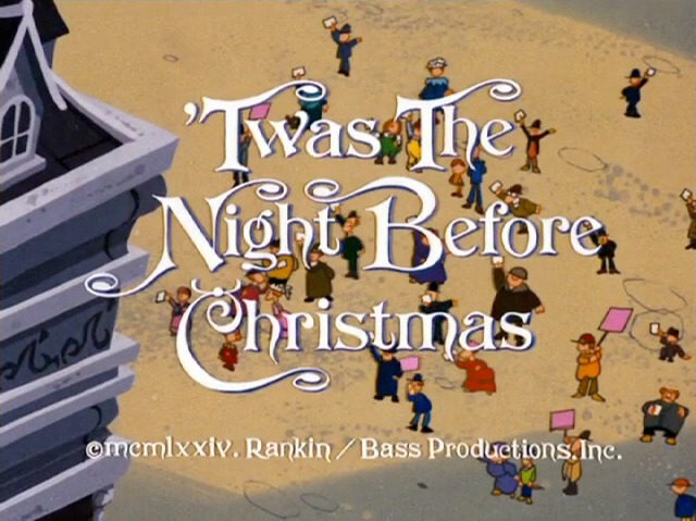 twas the night before christmas - Twas The Night Before Christmas 1974