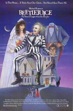 Beetlejuice film poster