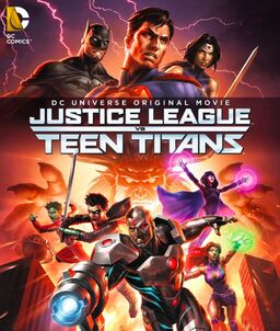 Justice League vs. Teen Titans poster2