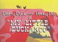 My Little Duckaroo Title Card