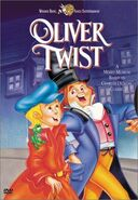 Oliver twist dvd cover