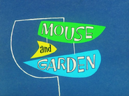 Mouse and Garden Title Card