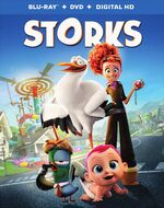 Storks blu ray cover