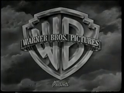 Warner bros pictures b&W logo 1948