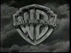 Warner bros pictures b&W logo 1948