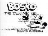 Bosko the Talk-Ink Kid
