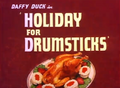 Holiday for Drumsticks Title Card