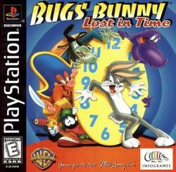 Bugs Bunny - Lost in Time (game box art)