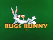 Bugsy and Mugsy Bugs Bunny Intro