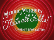 Tabasco Road Merrie Melodies Outro