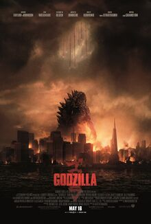 New official godzilla 2014 poster by awesomeness360-d77a1wx