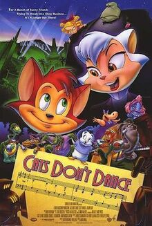 Cats dont dance poster
