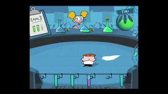 Ye Olde CN Games - Dexter's Lab Warning! Explosives in the Lab
