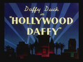 Hollywood Daffy Title Card