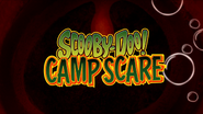 Scooby doo camp scare title card