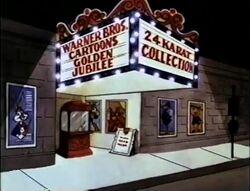 WB Cartoons Golden Jubilee title card