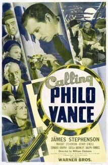 Calling Philo Vance poster