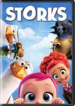 Storks dvd cover